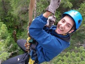 ziplining-Stoney-Creek-Seward-Alaska Photo Adventures