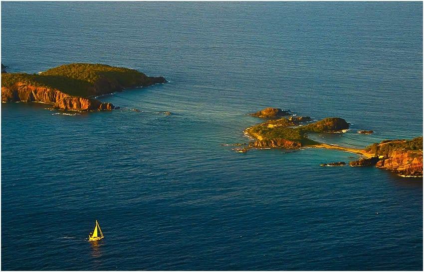 Sailboat, Virgin Islands