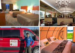 Alaska Photo Adventures lodging, bear camp, meals
